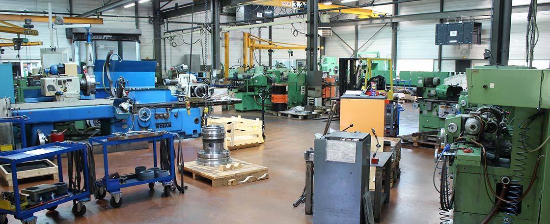 VERNET RECTIFICATION : un atelier doté de machines modernes et compétitives